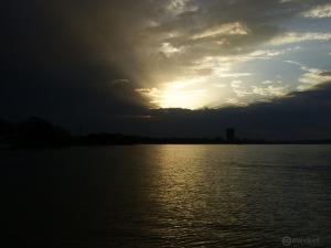 sunset at Tana lake - Bahir-dar (the name drives from Tana itself) is the fastes growing cities in Ethiopia