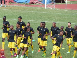 bafana bafana - one of strong teams in Africa